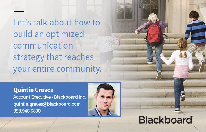 This image is from our website sponsor, Blackboard